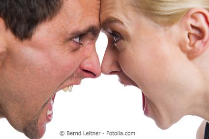 Wut auf den partner